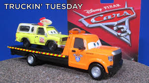Truckin Tuesday! Stu Scattershields from Disney Cars 3 Flatbed Tow ...