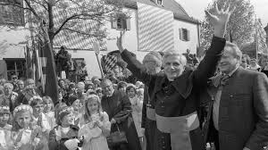 Image result for Photo of Cardinal Ratzinger as Archbishop of Munich