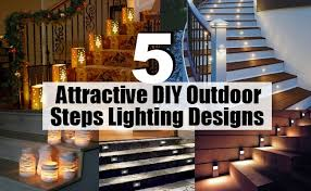 outdoor stairway lighting. There Are Various Options For Illuminating The Outdoor Stairs. Step Lights Apart From Lighting Up Stairways Also Enhance Aesthetic Appeal Of Stairway T