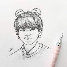 Bts jin fanart fan drawings seok ð¿ñ ð¸ð½ñ ðµñ ñ ñ ñ ð¾ð·ð¾ð²ñ ðµ reactions wattpad wattys2019. Shooky Dough Grr S Bts Btsfanart Fanart Yoongi Art Drawing Sketch Kpop Kpop Drawings Art Bts Drawings