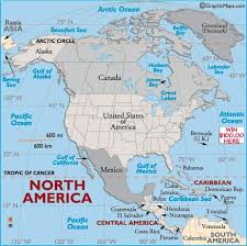 СЕВЕРНАЯ АМЕРИКА США Канада Мексика Гренландия  1 СЕВЕРНАЯ АМЕРИКА 1 США 2 Канада 3 Мексика 4 Гренландия 5 Бермудские о ва и 6 о ва Сен Пьер и Микелон