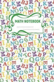 Math Notebook A 6x9 Inch Matte Softcover Paperback Notebook