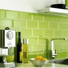 Kitchen Wall Tiles Uk Crown Tiles Lime Green Metro Wall Tiles From Crown Tiles