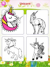 Printable Cute Unicorn Coloring Page For Girls App Price Drops