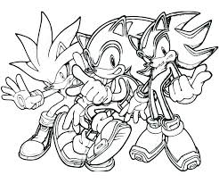 Sonic Printable Boom Printable Book Coloring Page Pages Sonic