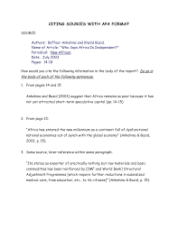 013 How To Cite Sources In Essay Example Citing Apa Format 309734