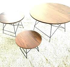 round natural wood coffee table legs reclaimed set frdesignhubco round natural wood coffee table natural wood
