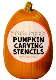 pumpkin carving patterns free 200 free pumpkin carving stencils family fresh meals