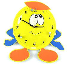 Small Picture Wall Clock Yellow Kitchen Wall Clocks Decomates Non Ticking