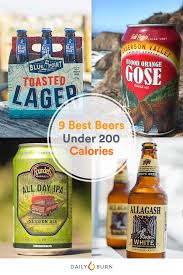 9 low carb craft beers under 200 calories