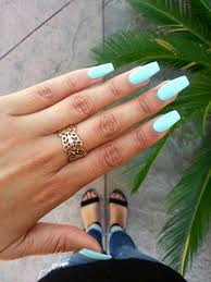 Nail Designs With Mint Color Summer Nails Love The Colour Discover And Share Your Nail