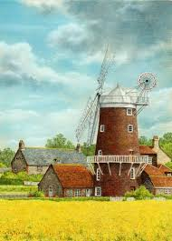 farm windmill drawing. We Provide You With An Outline Drawing Which Can Print Straight To Pastel Paper So No Free Hand Required. Pay Once And Get Access This Farm Windmill