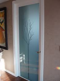 interior glass doors with obscure frosted glass triptic center 3 charming interior frosted glass door