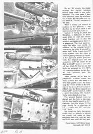 bob johnstone s studebaker and avanti page studebaker tech help drivers door repair