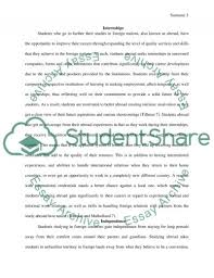 will students benefit from studying abroad essay text