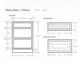 Standard Kitchen Cabinet Height Kitchen Drawer Dimensions Design Cabinet Depth Glazed Rope Base