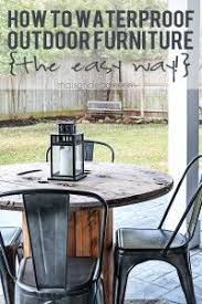 wood patio furniture. Easiest Way To Waterproof Outdoor Wood Furniture Ever! Maisondepax.com Patio