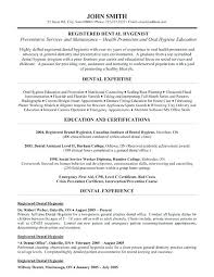 dentist resume sample