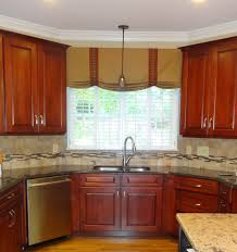 Valance For Kitchen Windows Kitchen Window Treatments Modern Window Treatment Ideas From