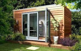 prefab garden office. Garden Offices And Studio Modern Cube Contemporary Prefab Studios Backyard Living Quarters Simple Design Of The Office