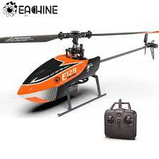 Eachine E129 2.4G 4CH 6 Trục Con Quay Hồi Chuyển Độ Cao Giữ Flybarless RC  Trực Thăng RTF Chế Độ Tùy Chọn Phải Và Tay Trái nâng Cấp E119 Đồ Chơi|RC  Helicopters