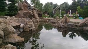 Декоративный пруд Строительство декоративных прудов и водоемов на  Декоративные пруды
