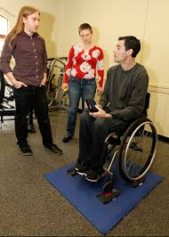 wheel chair scale. Co-founders Amos Meeks And Molly Farison (standing) Got Extensive Feedback From Wheelchair Wheel Chair Scale