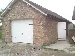 white georgian g60 insulated sectional garage door mold