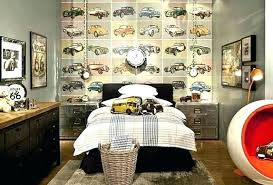car themed room decor interior home vintage bedroom cars boys decorating ideas classic onlin