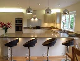Kitchens With Breakfast Bar Designs Intended For Desire - Kitchen counter bar