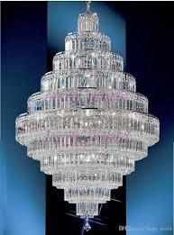 Großhandel Phube Beleuchtung Große Foyer Empire Gold Kristall Kronleuchter Chrom Kronleuchter Beleuchtung Moderne Kronleuchter Licht Beleuchtung Von