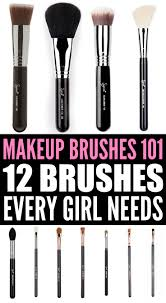 if you re looking for a makeup brushes 101 cheat sheet that explains which tools