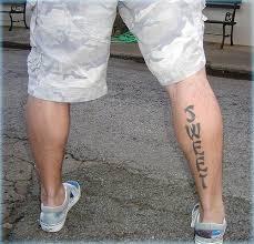 Motiv Tetování Na Lýtko 11
