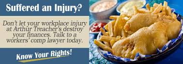 arthur treachers fish and chips help i was hurt working at arthur treachers