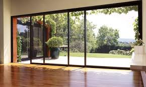 Great House With Wooden Flooring And Large Windows Plus Beautiful Outdoor  Landscape For Interior Home Design