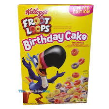 review kellogg s limited edition froot loops birthday cake cereal