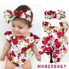 P8A-<b>2017</b> Newborn Infant Toddler <b>Baby Girls Clothes</b> Flower ₱206