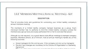 Minutes Template Free Templates Annual Meeting Format S