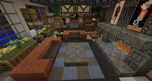 Minecraft Living Room Furniture How To Make A Beautiful Living Room In Minecraft Living Room 2017