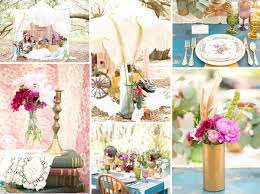 floral arrangements inspired boho theme wedding ideas and wedding Vintage Boho Wedding Invitations gold and pink vintage boho theme wedding decoration ideas vintage bohemian wedding invitations