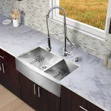 awesome stainless steel double bowl farmhouse sink vigo industries vg15198 36 inch farmhouse stainless steel double