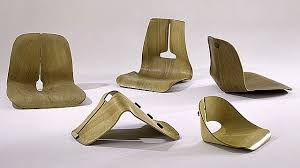 eames furniture design. Chair Shell Experiments, Designed 1941-45, Molded Plywood, Metal, And Rubber. Courtesy Of Vitra Design Museum (F-8 A-e) Eames Furniture