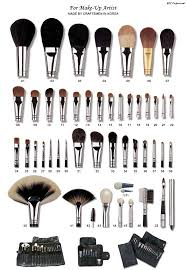 a guide to makeup brushes