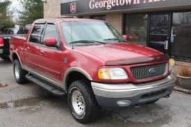 Used 2001 Ford F-150 XLT 4x4 Red For Sale Georgetown Auto Sales KY Kentucky  SOLD - YouTube