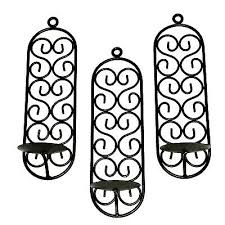 black iron candle wall sconces 27 90