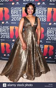London, UK. 13th June 2018. Pretty Yende attending Classic BRIT Awards 2018  at the Royal Albert Hall London Wednesday 13th June Credit: Peter  Phillips/Alamy Live News Stock Photo - Alamy