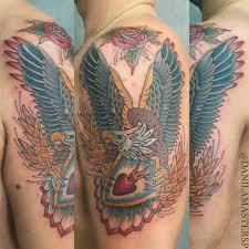 без названия даниламастер олдскул тату русалка Tattoo