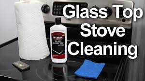 How To Clean A Glass Top Stove Glass Top Stove Cleaning 1 Best Method Youtube