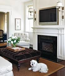 place the tv over the fireplace make sure to clean it regularly or else the smoke could create a hazy over the tv set hindering your television