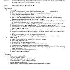 Retail Job Description Resume Duties S Associate Resume Retail